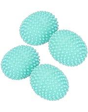 乾燥ボール、ランドリーボール、PVC素材衣類柔軟剤4PCS衣類用柔軟仕上げ剤家庭用家庭用クリーニング