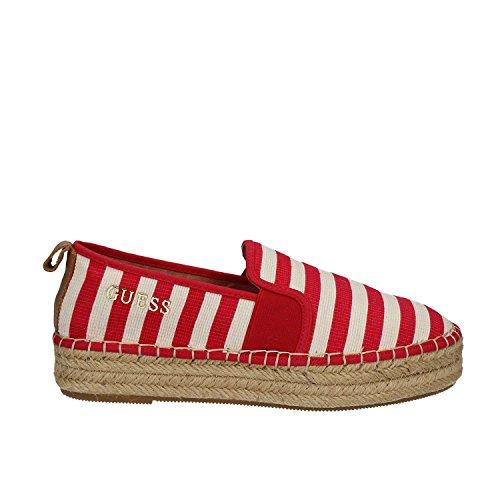 Guess - Zapatos de Cordones para Mujer, Color Rojo, Talla 39