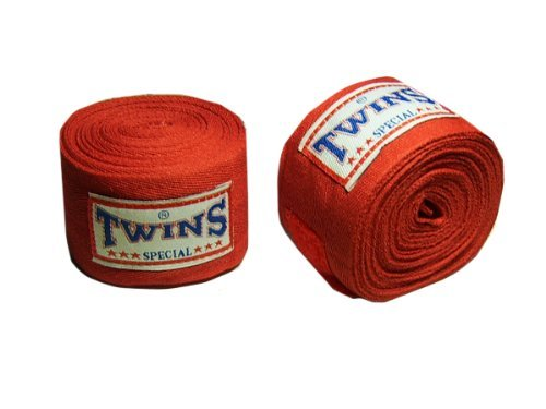 Twins Special Boxen Hand-Bandagen : rot