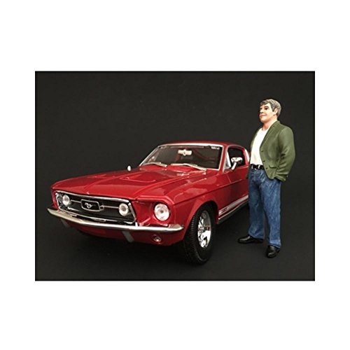 figurine des années 70 années figurine VII, 0, voiture miniature, Miniature déjà montée, Americains Diorama 1:24