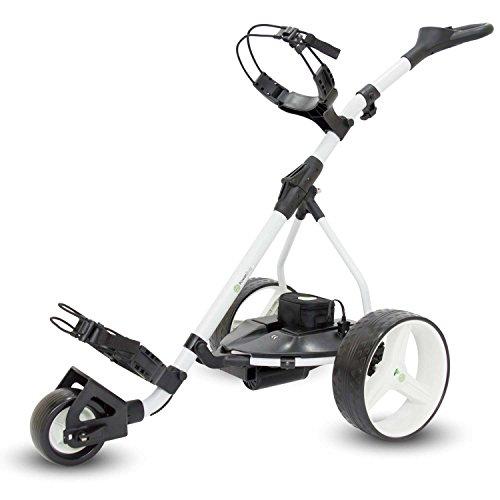 Powerbug GT Plus Tour Lithium Electric Golf Trolley - White