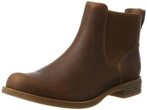 Timberland Damen Magby Low Chelsea Boots, Braun (Light Brown), 39 EU