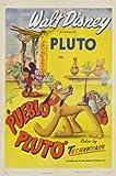 Pueblo Pluto – Disney 1949 – Film Poster Plakat Drucken