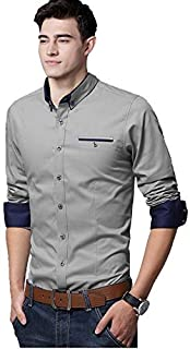 LookMark Men's Regular Fit Casual Shirt