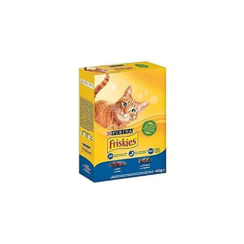 Purina Friskies Comida para Gato, 400gr