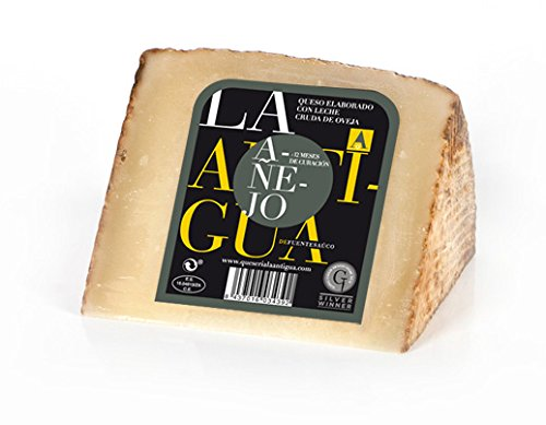 QUESERIA LA ANTIGUA DE FUENTESAUCO - Queso añejo de leche cruda de oveja (2 x 400gr Aprox.)