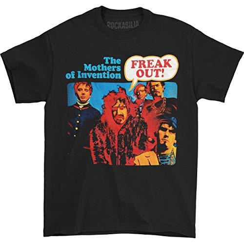 Frank Zappa - Camiseta - Unisex - Frank Zappa - Uomo Freak Out (Camiseta) 2X- Nero