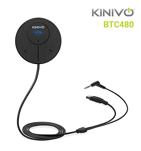 6. Kinivo BTC480 Bluetooth Hands-Free Car Kit for Cars
