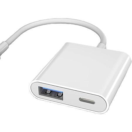 アップグレード版 i-Phone OTGカメラアダプタ USBカメラアダプタ USB変換 USB A(メス)→i-Phone/i-Pad/i-Pod(オス) 専用 高速な写真とビデオ転送 カードリーダー USBフラッシュドライブ マウス キーボード 適用 i-Phone12 Pro 11 XR XS X 8 7 6 Plus 5対応