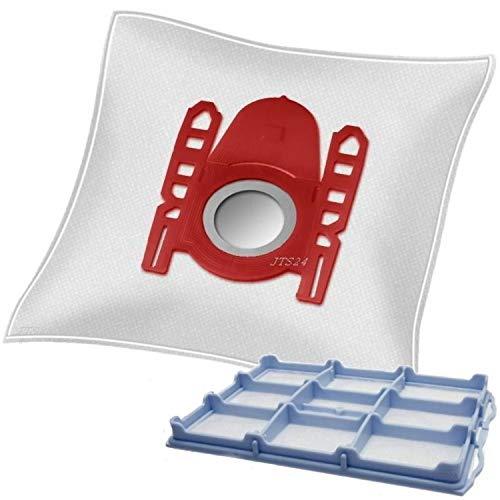 10 DeClean Staubsaugerbeutel +1 Motorschutzfilter für Bosch logo 2000W BSG62010/04 und 2200W BSG62200/04