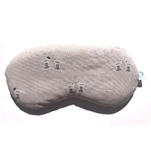 mojoo Yoga Augenkissen mit Bio Lavendel-, und Bio Leinsamen - Yoga Kissen - Entspannung Kissen - Yogakissen - Aroma Therapie - Lavendel Duft führt zu...