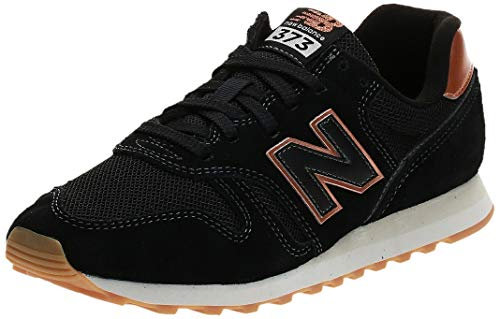 New Balance 373v2, Zapatillas Mujer, Negro (Black Ce2), 39 EU