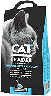 Geohellas Cat Leader Clumping Ultra Compact Cat Litter with Wild Nature Aroma - 5 Kg