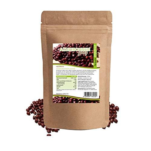 Mynatura Azukibohnen I Ganz I Azuki I Bohnen I Hülsenfrüchte I Beans I Pflanzliches Protein I Kochen I Japanische Bohnen (1kg)