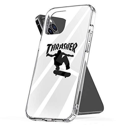 Phone Case Thrasher Boy Compatible with iPhone 6 6s 7 8 X XS XR 11 Pro Max SE 2020 Samsung Galaxy Tested Bumper