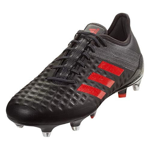adidas Predator Malice Control SG Rugby Boots Black (13.5)