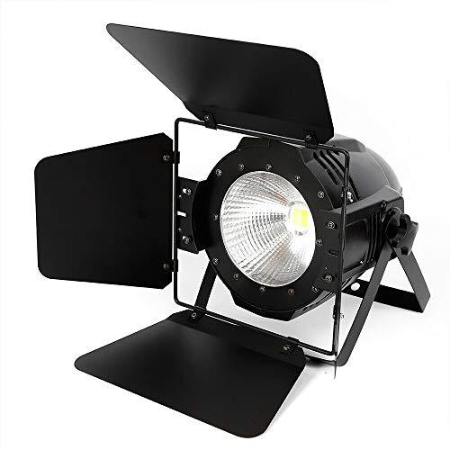 100W LED Par Bühnenbeleuchtung 2 in 1 Bühnenlicht Strahler COB Außen Spot Licht IP64 Scheinwerfer Spot Licht DMX, Master/Slave, Sound, Auto Filmstütze Licht