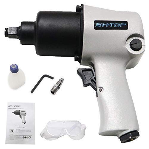 For Sale! BHTOP Impact Wrench, 1/2 Inch Air Impact Driver, 7500 rpm Free speed Air-powered, 420 ft...