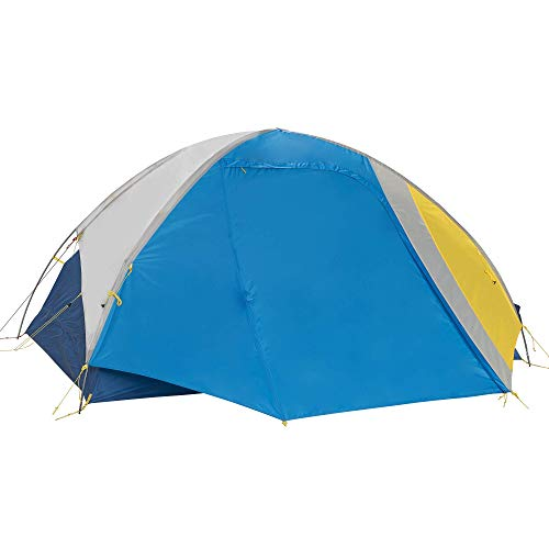Sierra Designs Summer Moon 2P Tent, Light Grey/Light Blue/Yellow, 2P