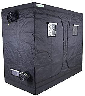 "zazzy 96"" X48 X78 Plant Growing Tents 600D Mylar Hydroponic Indoor Grow Tent"