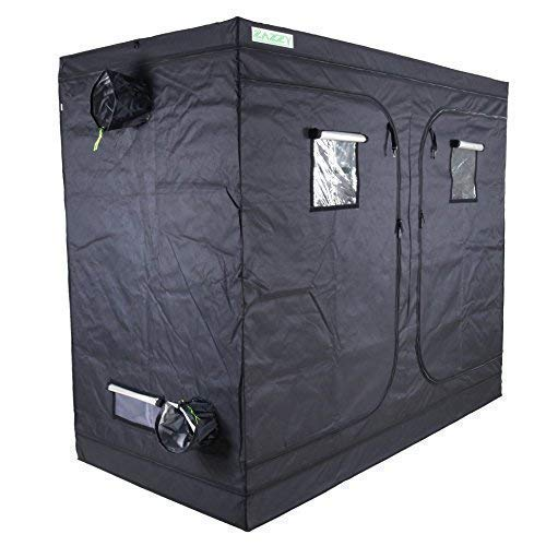 Zazzy 48'x48'x78' Plant Growing Tents 600D Mylar Hydroponic Indoor Grow Tent