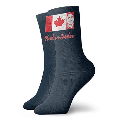 Adamitt Vertrauen Sie auf Trudeau für Pm Kanada Unisex Crew Fashion Neuheit Socken Kleid Socken Lustige Socken
