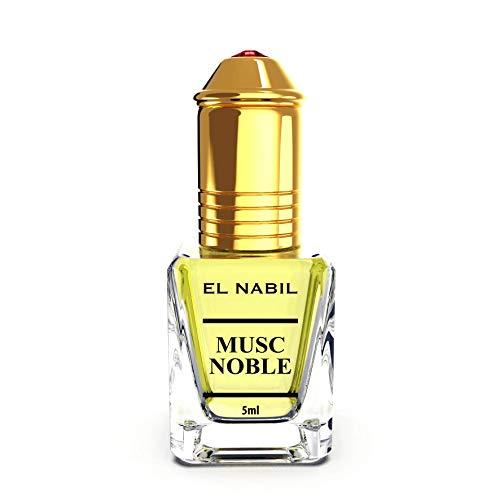 Musc Noble 5ml Parfum Duft - El Nabil Misk Musk Moschus Parfümöl für HERREN & DAMEN - Ätherische Essenzen Natur Perfume Oil Attar Scent