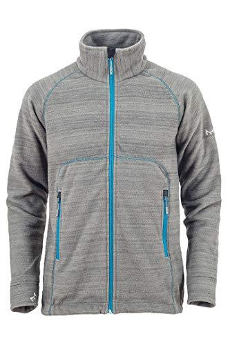 Milo Inco Men's Fleece Jacket Colour Veste en Polaire Homme, Gris, L