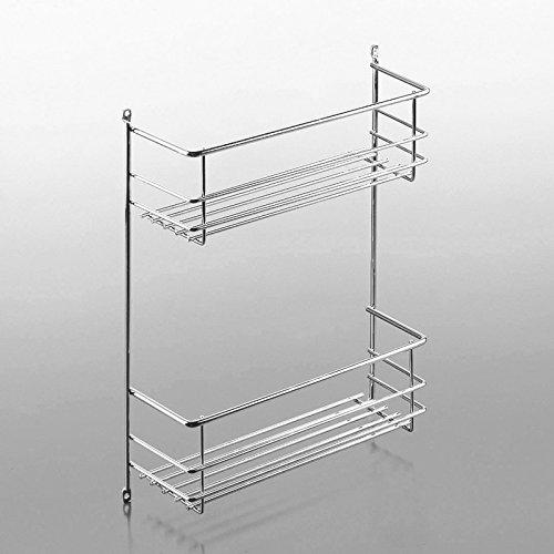 Putzmittelkorb II 323 x 102 x 380 mm 2-etagig für Wandmontage oder Montage in Schränken von Ordnungsystem Korb für Küchenutensilien von SO-TECH®