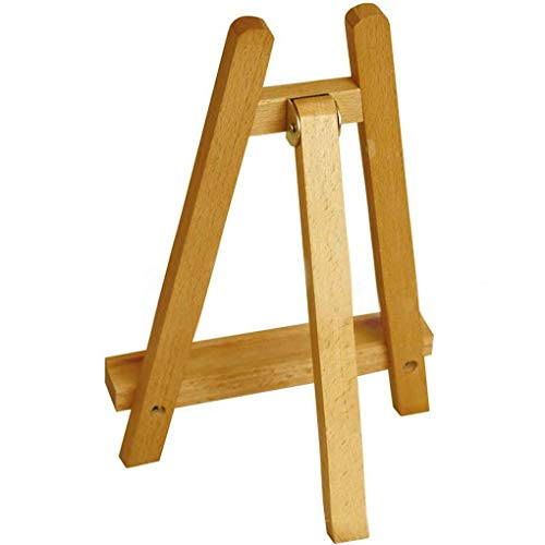 Lorsoul 28CM Hochstativ A-Frame Tisch Staffelei, Künstler Künstler Holz Anzeige Studenten Studio Tragbare Zeichnung Staffelei