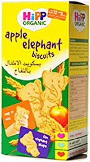 HiPP Organic Little Nibbles Apple Elephant Biscuits, 150 g