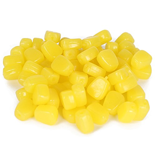 Xhope 30pcs Simulation Fake Soft Baits Corn Carp...