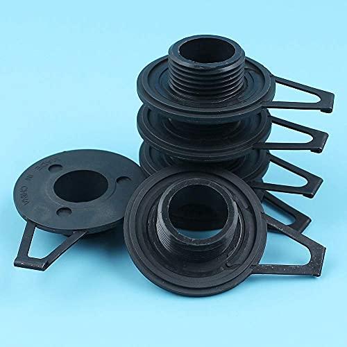 HaoYueDa Kit de Engranaje helicoidal de Bomba de Aceite de 6 unids/Lote Compatible con Motosierra Husqvarna 362, 365, 371, 372, 385, 390# 503 75 61-02