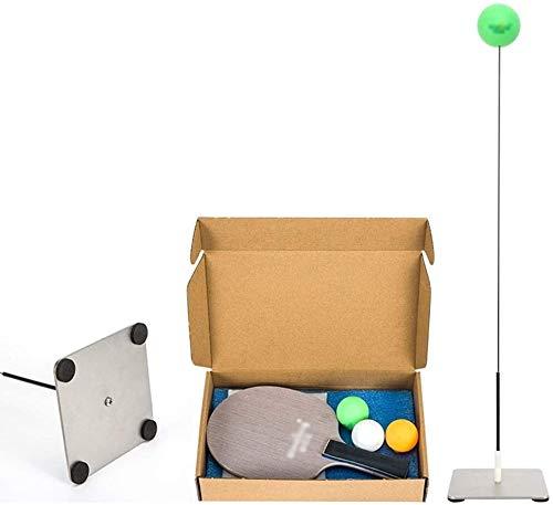 BBGSFDC Mesa de Ping Pong Mesa de Ping Pong Entrenador del Juguete for Auto capacitación/Ocio/descompresión/Kid Cubierta Juegos al Aire Libre (Size : Professional Models)