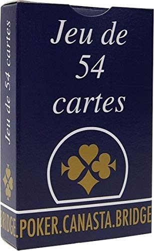 Vigno-Jeux Jeu 54 Cartes la gauloise boite Carton