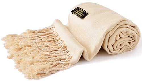 CJ Apparel Nude Einfarbiges Design Stola Schal Umschlagtuch Schultertuch Tuch (60+ Farben) Zweite Wahl Neu