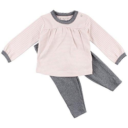 Fixoni Baby Tales- 2-teiliger Mädchen Schlafanzug 100% Baumwolle (74)