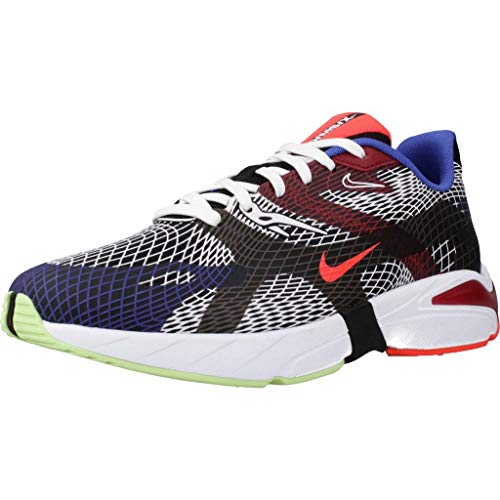 Nike Ghoswift Hombre Running Trainers BQ5108 Sneakers Zapatos (UK 8 US 9 EU 42.5, Black White Blue 002)