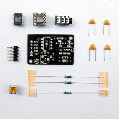 IGOSAIT MSGEQ7 Módulo de análisis de señal de filtro de ecualización gráfica de procesamiento de audio (color : kit)