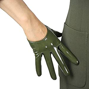 Fashion Short Latex Gloves for Women