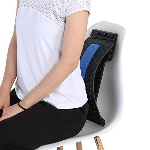 Masajeador de espalda, masajeador de acupuntura, diseño de acupuntura para aliviar el dolor de espalda crónico, Corrector de postura, para silla de oficina en casa
