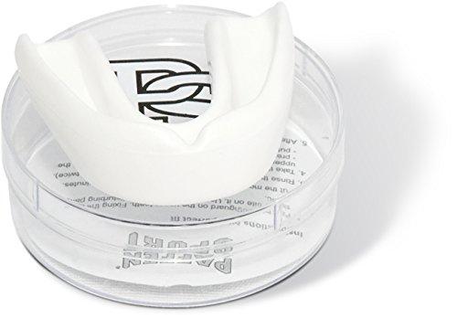Paffen Sport Allround Mint Zahnschutz, weiß, für Erwachsene – Made in Germany