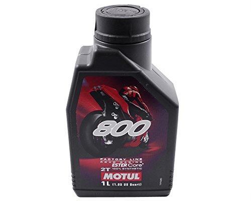 Motoröl MOTUL 800 2T Factory Line Road Racing 2-Takt Motorradöl Ester 1 Liter