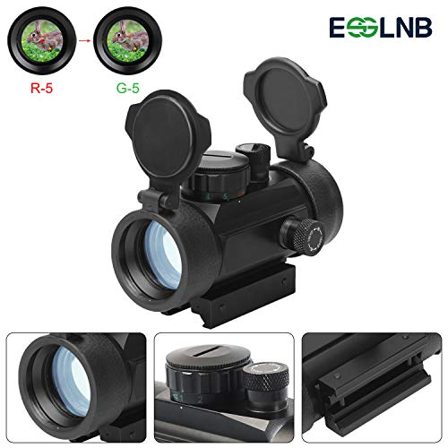 ESSLNB Airsoft Red Dot Scope Reflex Sight 30mm Optics Prism with 5...