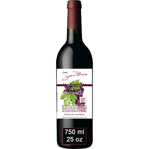 Traditional Barrel Aged 18 Years Italian Balsamic Vinegar 100% All Natural 750ml (25oz)