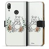 Étui Compatible avec Huawei Y7 Pro (2019) Étui Folio Étui magnétique Disney Winnie l'ourson...