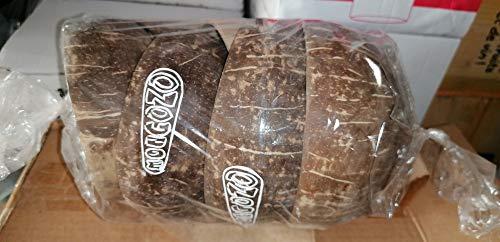 Lote de 6 vasos de 50 cl, cerveza mongózo – Motiza de nudo de coco