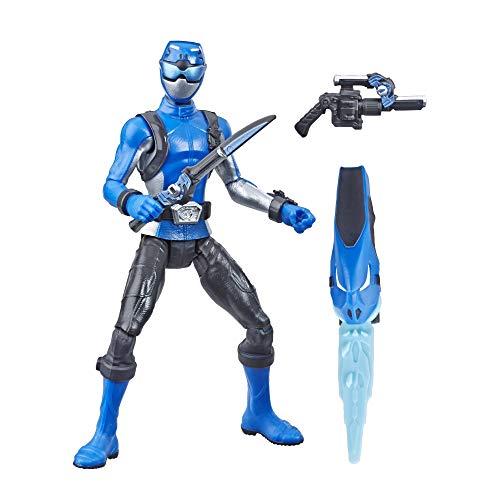 Power Rangers E5942ES1 Beast Morphers Blue Ranger Actionfigur Spielzeug 15,2 cm, Mehrfarbig