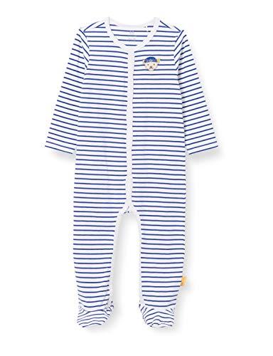Steiff Baby-Jungen Strampler Nachthemd, Bright White, 050