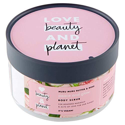 Love Beauty Planet Scrub Corpo Rosa 8710447392379 Burro di Murumuru e Rose della Bulgaria - 165 Ml